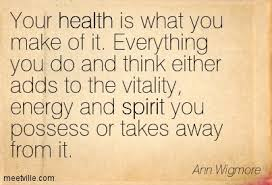 Your health is what you make of it